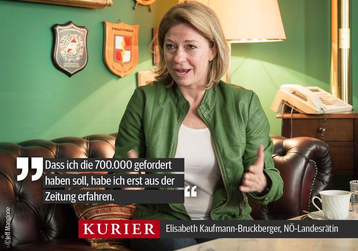 Causa Seenkauf: Nachdem Elisabeth Kaufmann-Bruckberger schwer belastet wurde, wehrt sie sich nun. http://kurier.at/politik/inland/kaufmann-bruckberger-haider-und-oegb-finanzchef-sassen-am-tisch/124.086.376