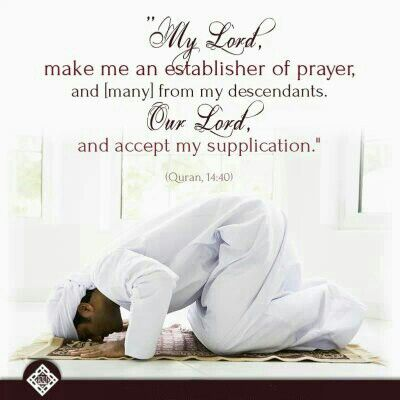 Ibrahim, Verse 40