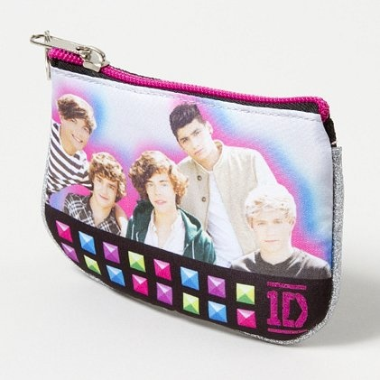 Colorful & glittery One Direction Coin Purse
