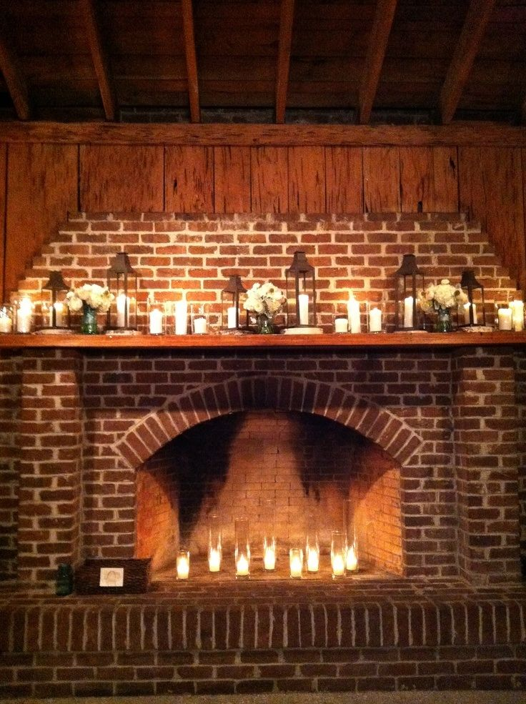 Fireplace mantle deco