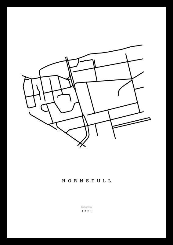 Karta över Hornstull, Stockholm via kvarteren. Click on the image to see more!