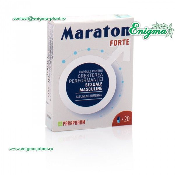 Maraton Forte - produse naturiste potenta pe http://enigma-plant.ro