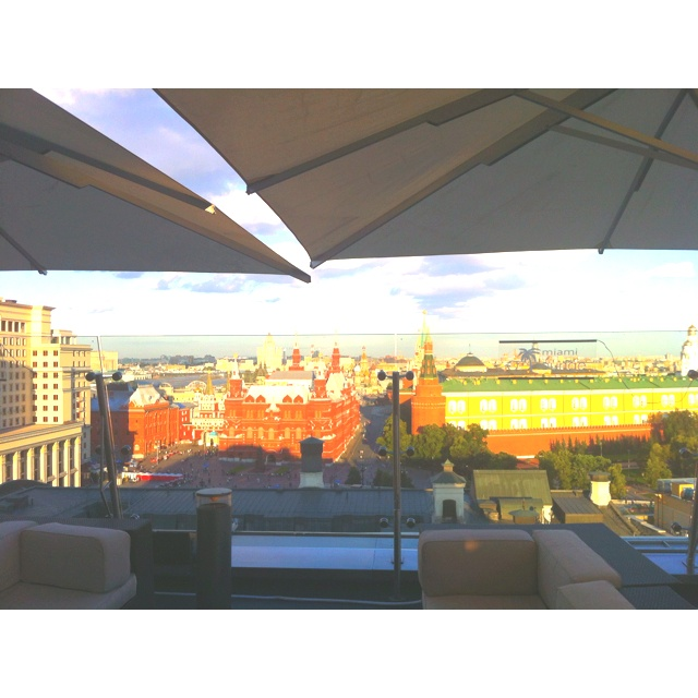 Moscow, the view from Ritz Carlton