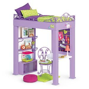 american girl doll mckenna brooks loft bed | McKennaLoftBed