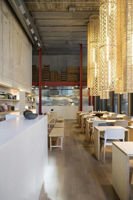 Restaurante el japon s do grupo tragaluz em barcelona - Interioristes barcelona ...