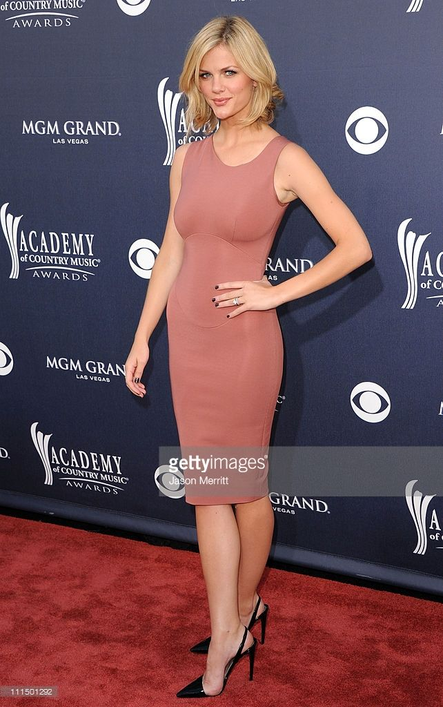 Actress Brooklyn Decker arrives at the 46th Annual Academy Of Country Music Awards RAM Red Carpet held at the MGM Grand Garden Arena on April 3, 2011 in Las Vegas, Nevada.