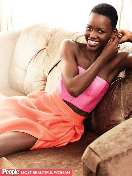 Named PEOPLE's Most Beautiful Person, Lupita Nyong'o is simply radiant.