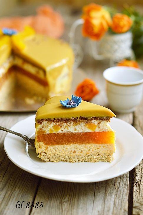 Торт Король Солнце