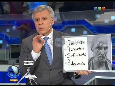 (2) López Rosetti habla sobre el consumo de harinas - Telefe Noticias - YouTube