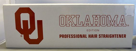 Ionika Oklahoma Sooners Professional Hair Straightener * Want to know more, click on the image.