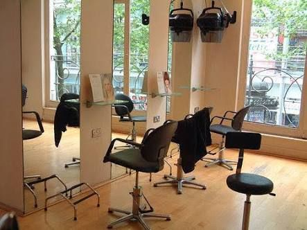 Best 25 small salon designs ideas on pinterest small for Used salon stations