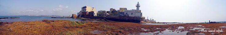 Beach alfanar tyre city lebanon ..