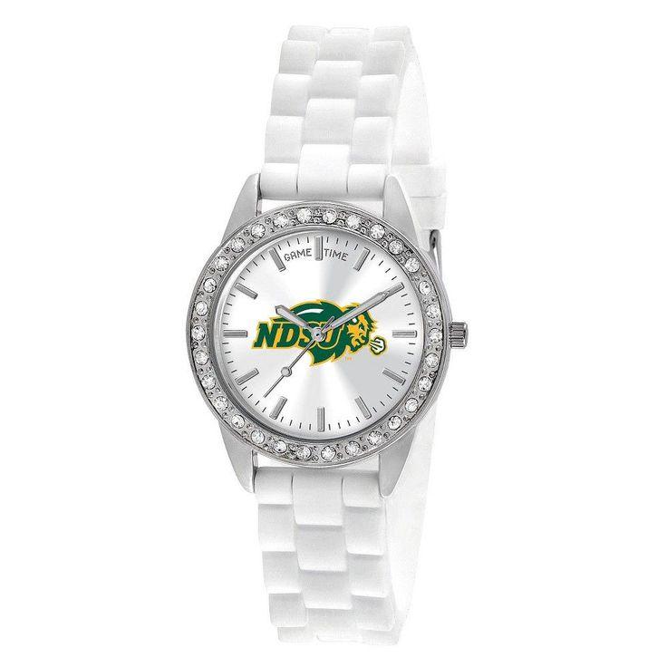 Women's College Game Time North Dakota State Frost Watch - White, North Dakota State University #WomenWatches