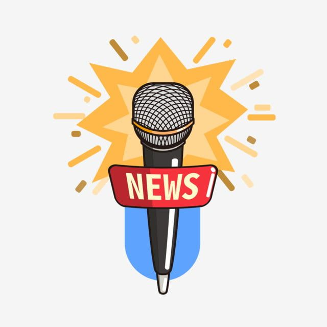 World News Day Cartoon Interview Microphone Microphone Material Elements Microphone Wheat World News Day Png And Vector With Transparent Background For Free Cartoon Clip Art New Day Happy Cartoon