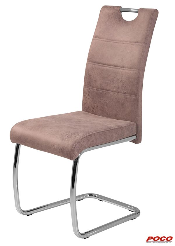 Schwingstuhl Flora Vintage Beige Online Bei Poco Kaufen Freischwinger Stuhle Freischwinger Stuhle