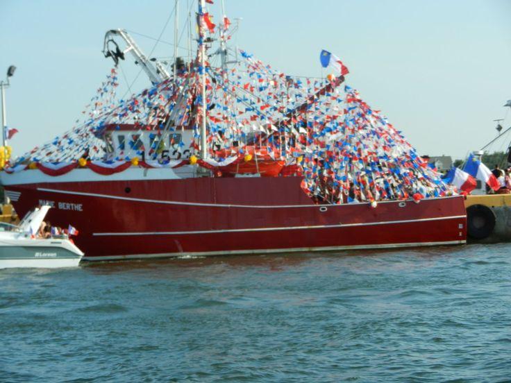 Boats of Caraquet, NB Canada Festival Acadiens