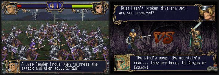 Das 1998 erschienene Taktik-Rollenspiel Dragon Force II: The Gordforsaken Land wurde endlich übersetzt - http://www.jack-reviews.com/2015/04/dragon-force-ii-englisch-patch.html