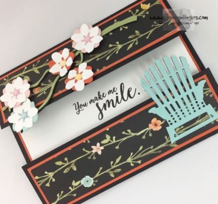 Stampin' Up! Colorful Seasonal Layers Centerfold Card | Stamps – n - Lingers