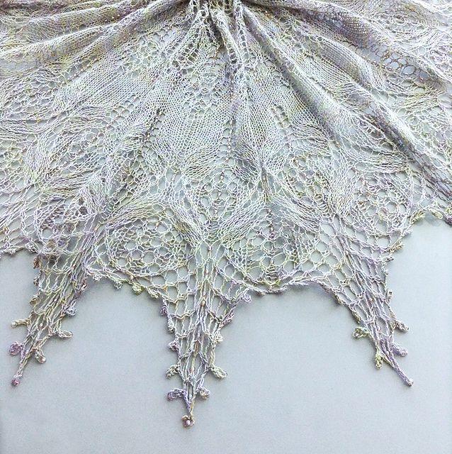 Ravelry: Serendipity Lace Shawl pattern by Hayley Tsang Sather