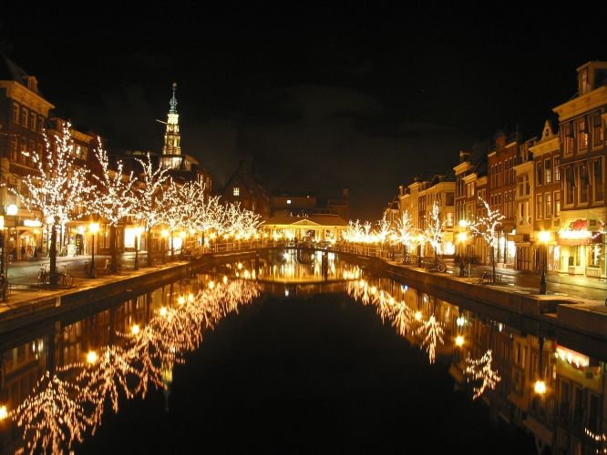 Leiden, Netherlands. Lived there for a couple of years; beautiful city!!