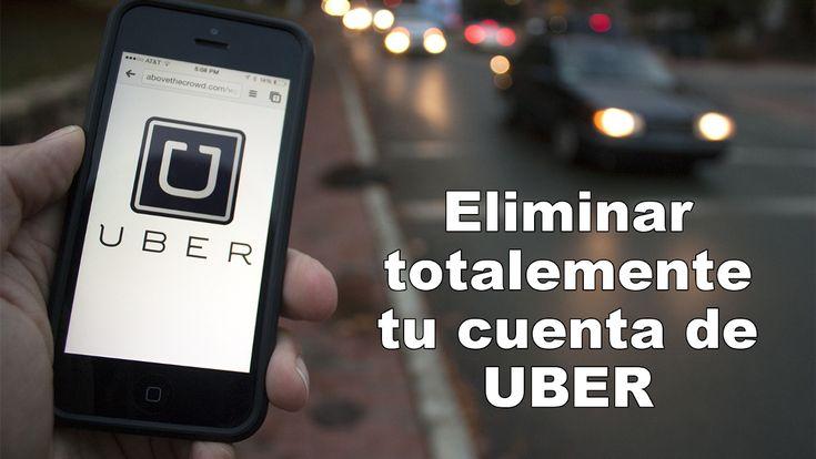 Eliminar completamente tu cuenta de Uber y toda la información guardada en dicha cuenta como la tarjeta de crédito, dirección de correo electrónico, etc. #Uber #Privacidad #Cuenta #Android #iOS #iPhone downloadsource.es