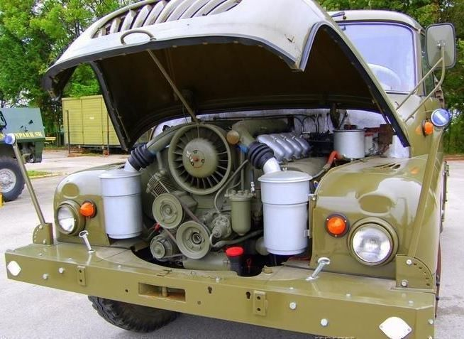 Air-cooled Diesel V8: Restored 1967 Tatra T138 4X4