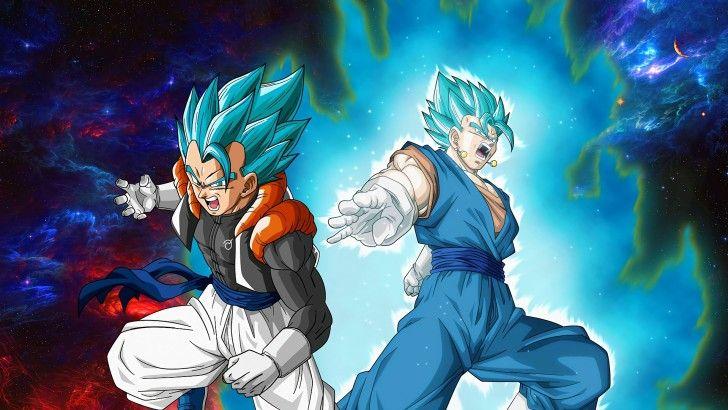 Vegito and Gogeta Super Saiyan Blue DBS Wallpaper