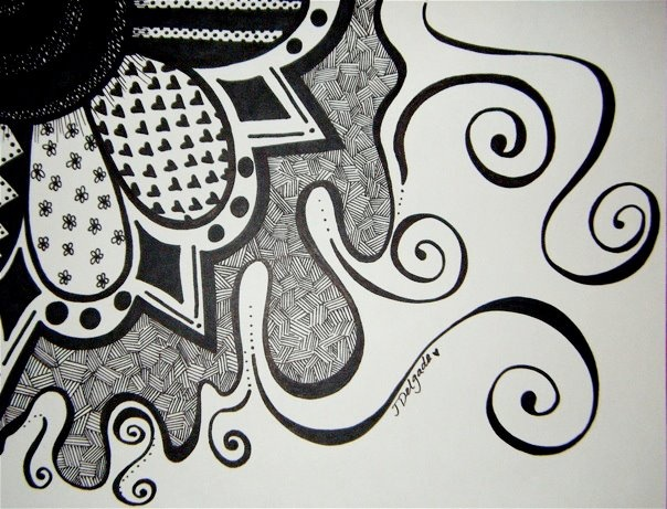 Scribble Drawing Easy : Best sharpie art images doodles scribble and