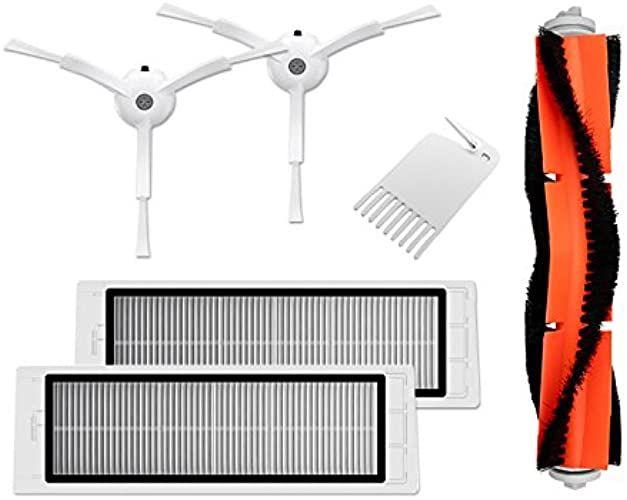 Beste 2020 Original Xiaomi Mi Robot Vacuum Cleaner Roborock Saugroboter Ersatzteile Verschleissteile Set 6 Teilig Hepa F Robot Vacuum Hepa Filter Cleaning Tools