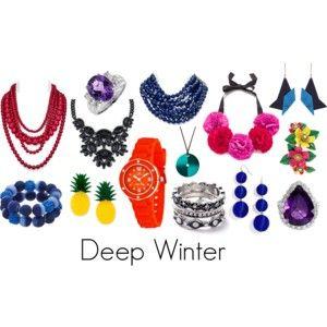 Deep winter jewelry