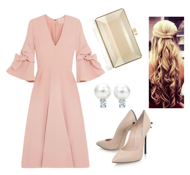 """""""Style #4"""" by lisawijaya ❤ liked on Polyvore featuring Roksanda, Casadei and Judith Leiber"""