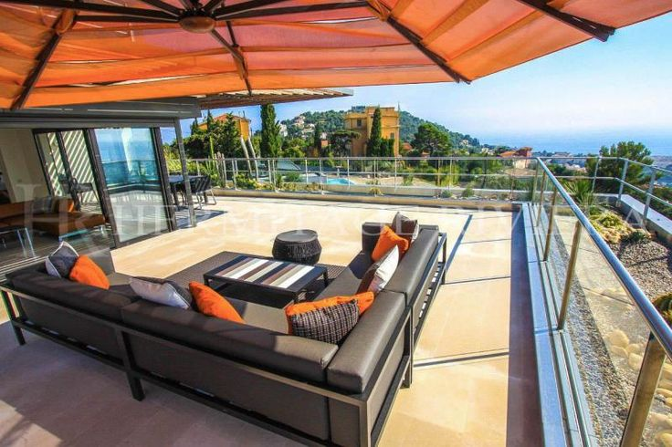 Sensational penthouse in modern luxury residence for rental, offering an immense terrasse with fantastic panoramic views across Nice and its bay. #nice #villefranche #penthouse #rooftop #terrace #bluesky #breathtaking #superb #luxpads #luxuryrealestate #luxuryrentals #ruhl #negresco #beaurivage #propertyporn #property #prestige #riviera #realestate #realty #hermitage #hermitageriviera #vacation #summer #beach #seaview #style #lounge #skydeck