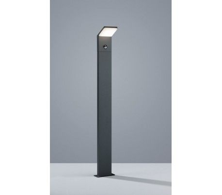 Havelampe H100 9W LED med sensor - Sort
