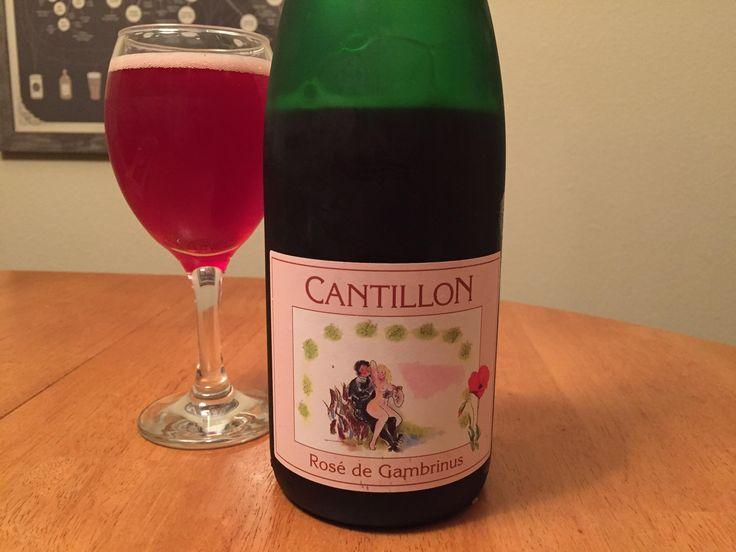 Cantillon Rosé De Gambrinus #FavoriteBeers #summershandy #beers #footy #greatnight #beer #friends #craftbeer #sun #cheers #beach #BBQ