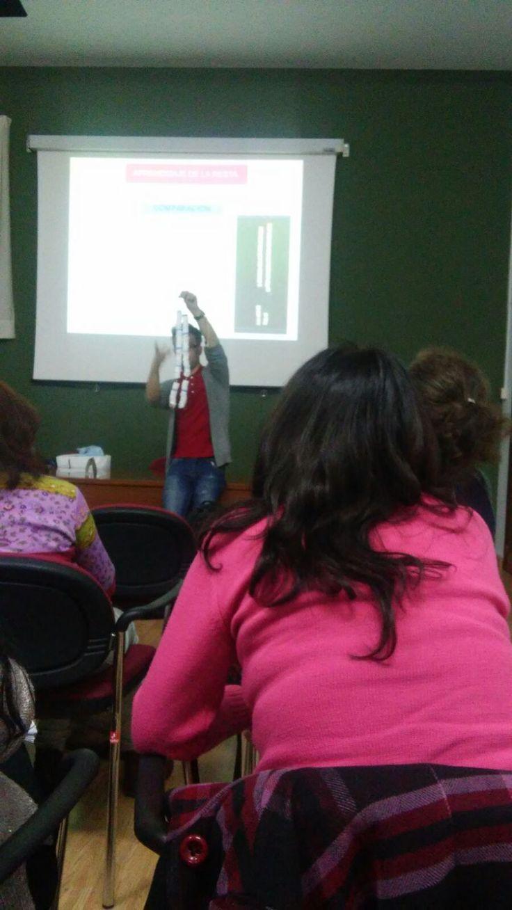 FORMACIÓN ABN   Los maestros del C.E.I.P. Luis García de Llera hemos asistido,junto a un número elevado de maestros de la zona, a un curso ...