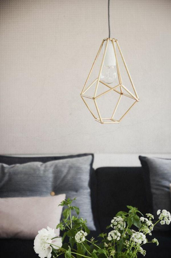 moderne wohnzimmerlampen designs geometrisch - Moderne Wohnzimmerlampen