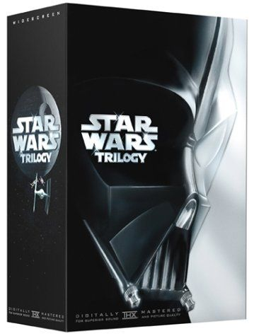 Star Wars trilogy - Was George Lucas's Star Wars Trilogy, the most anticipated DVD release ever, worth the wait? You bet. It's a must-have for any home theater, looking great, sounding great, and supplemented by generous bonus features.