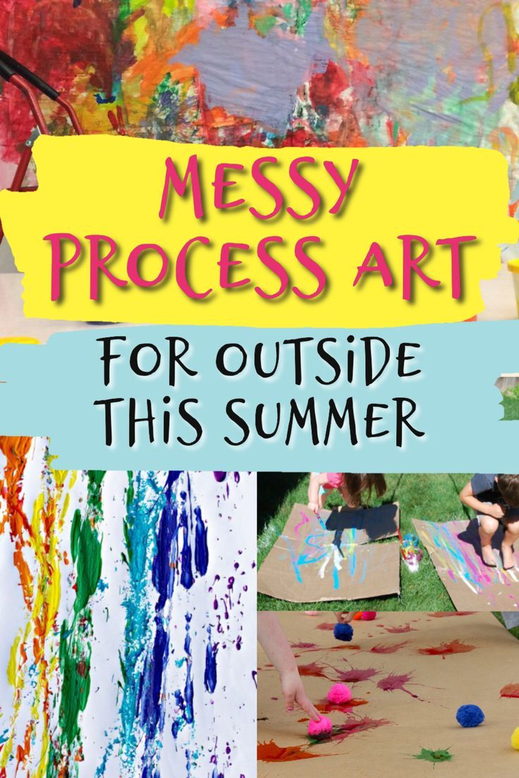 Messy Art Activities For Kids Stay At Home Moms Resource Board