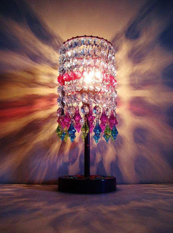 Gypsy Calypso Acrylic Jewels Capiz Style by ShabulousChandeliers