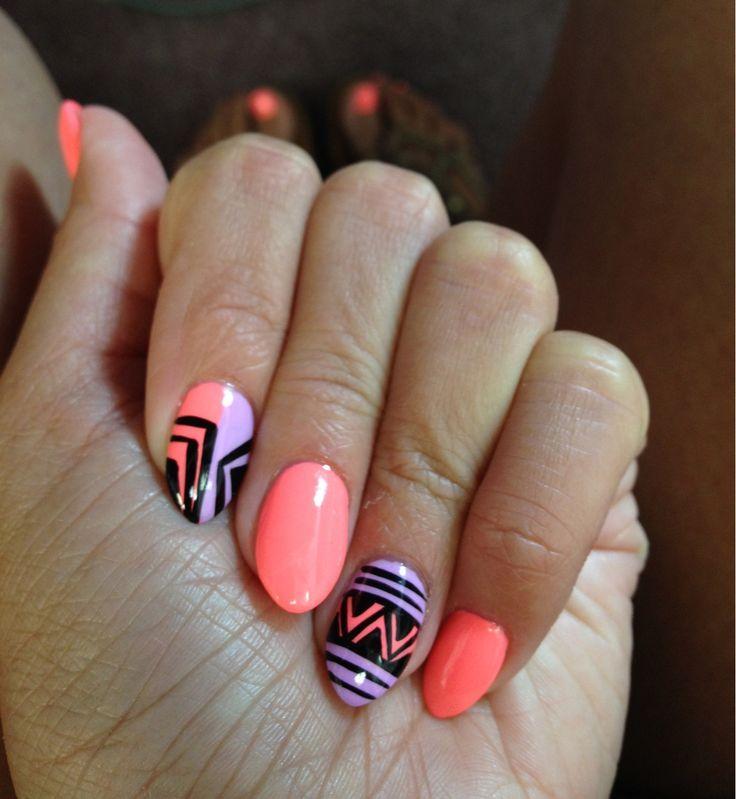 acrylic nail designs for teens stiletto | Stiletto Acrylic Nail Designs
