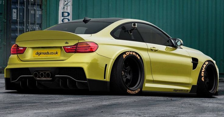 Big-Boned BMW M4 Coupe Is For The Track-Loving Enthusiast #BMW #BMW_M4