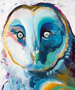 "Christina Tonges Korn - ""Owl"" 2013"