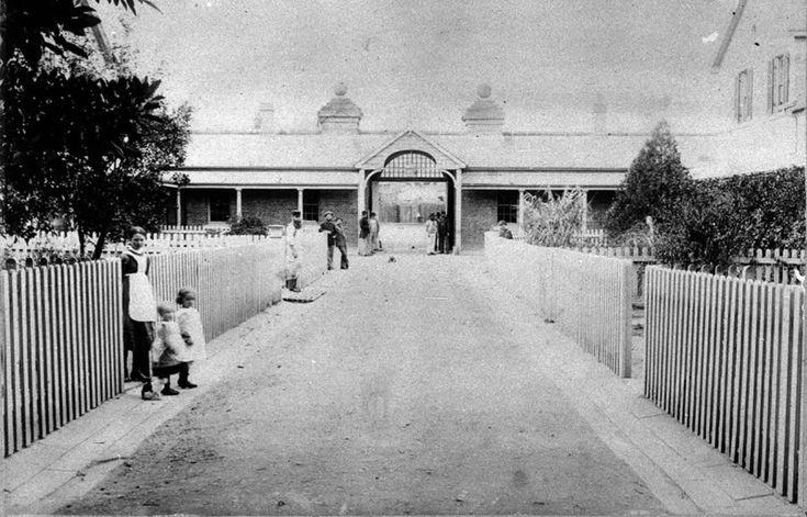 """Parramatta Hospital for the Insane"", Destruction of 'Female Factory' buildings, Cumberland Hospital, 1878 -1983"