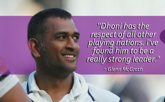14 Moving And Powerful Quotes About MS Dhoni By The Cricketing World's Superstars