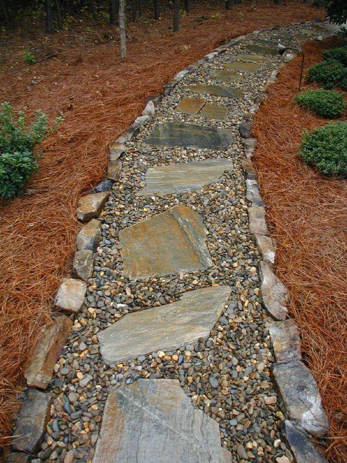 Best 20 gravel walkway ideas on pinterest walled garden - How to make a garden path with gravel ...