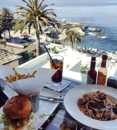 George's at the Cove in La Jolla is one of San Diego's top places to dine on the rooftop!