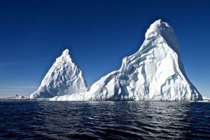 Icebergs in the Ross Island, Antarctica