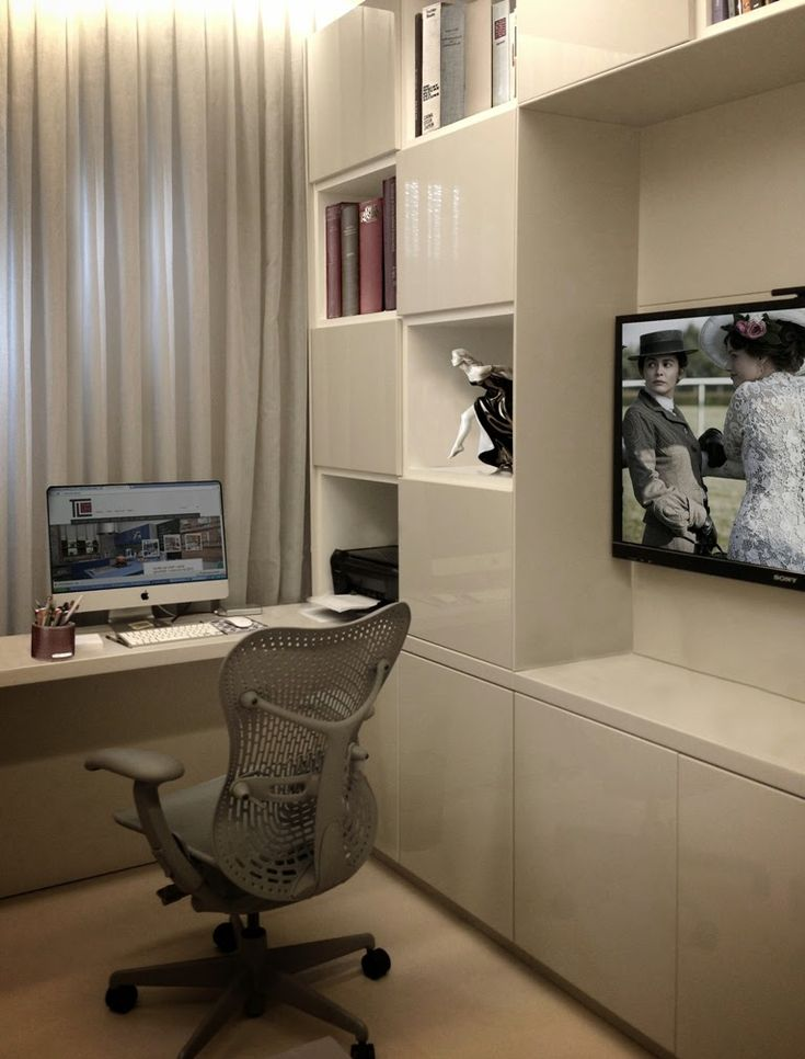 Decora Interi : Home Office : no Quarto de Empregada