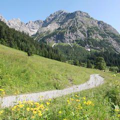 Wie ein Wächter wacht der Große Widderstein über Vorarlberg und das Kleinwalsertal. Auf unserem Wandertipp verliert ihr ihn nie aus den Augen ...