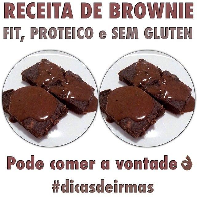 Brownie Fit 250 g de batata doce cozida amassada, 1 ovo, 1 colher de cacau…